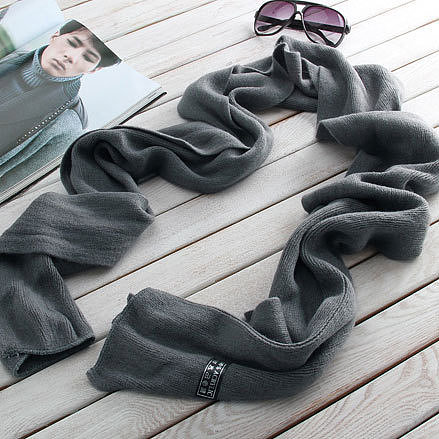 Leisure Simple Solid Color Warm Scarf