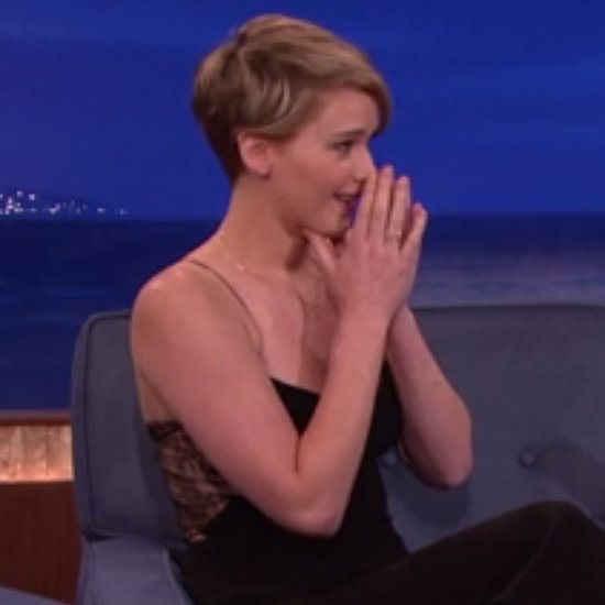 Jennifer Lawrence Conan Interview December 2013