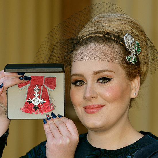 Adele Gets an MBE in Stella McCartney Dress