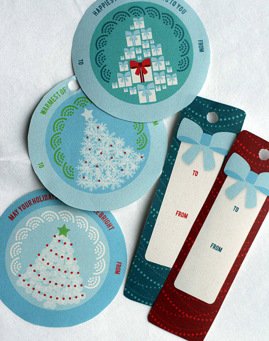 Holiday Tree Gift Tags
