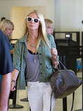 Another star that used her Saint Laurent duffle as the perfect airport buddy? Gwyneth Paltrow, who toted a dark one at LAX.