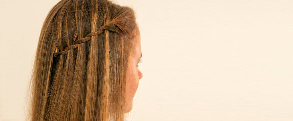 The Waterfall Braid Tutorial You Are Going to Want to Pin