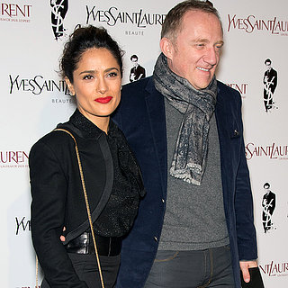 Salma Hayek at Yves Saint Laurent Movie Premiere