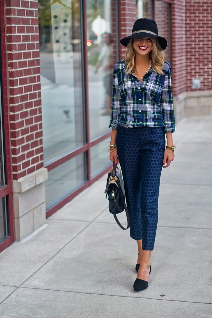 Congrats, LittleBlondeBook! You make us mad about plaid.