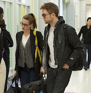 Robert Pattinson and Kristen Stewart Are Falling Victim to the Holiday Magic