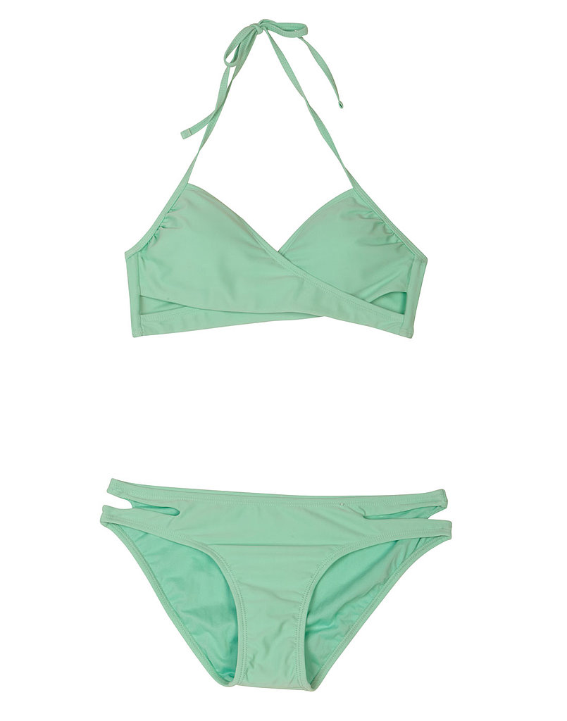 Must-Have Wraparound Bikini Top ($17) and Favorite Cutout Bikini Bottom ($13)