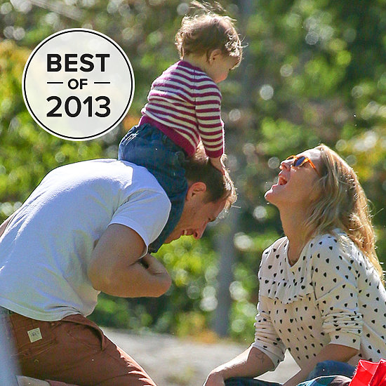 "The Celebrity Family Moments That Made Us ""Aww"" in 2013"