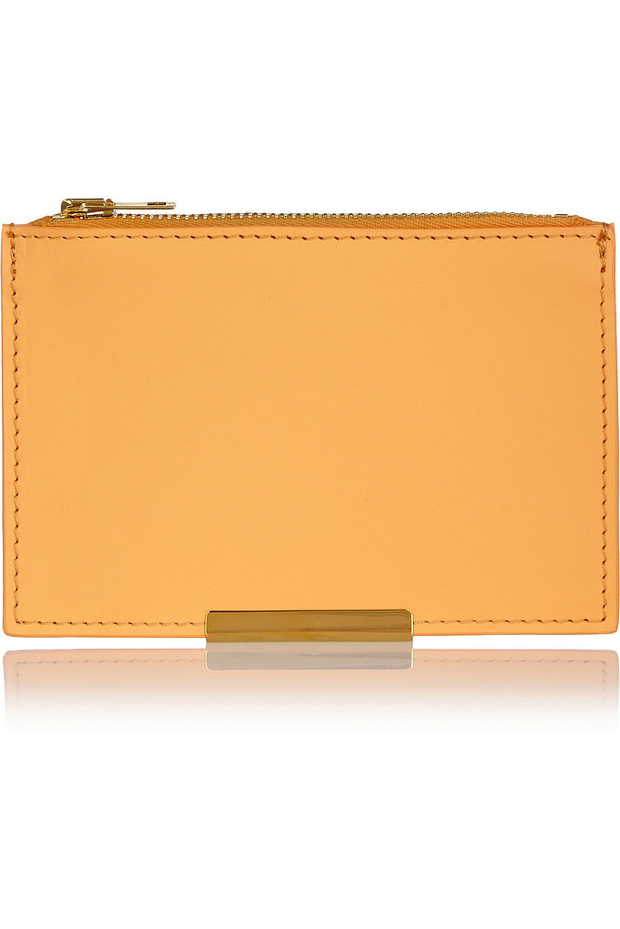 Sophie Hulme Leather Wallet ($140)