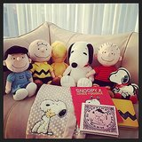 "Rachel Zoe said her Snoopy presents were ""literally the cutest gifts ever."" Source: Instagram user rachelzoe"