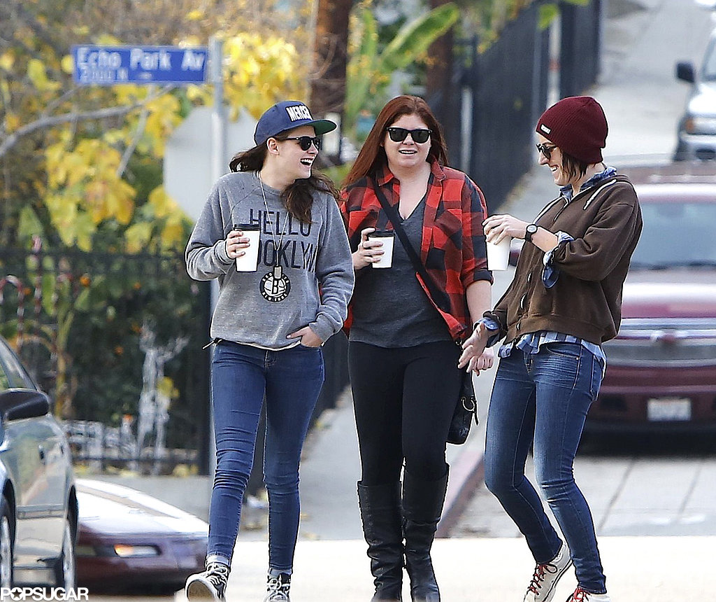 Kristen Stewart walked around the LA neighborhood of Silver Lake.