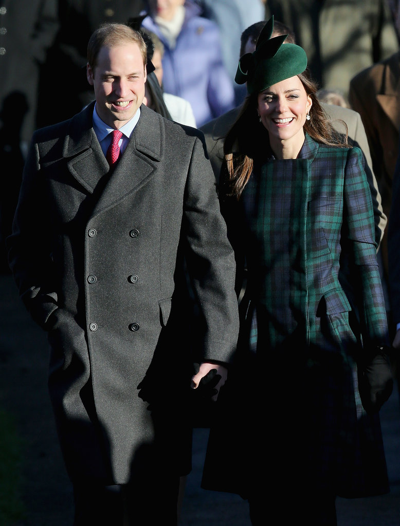 Kate Middleton and Prince William stepped out together on Christmas Day.