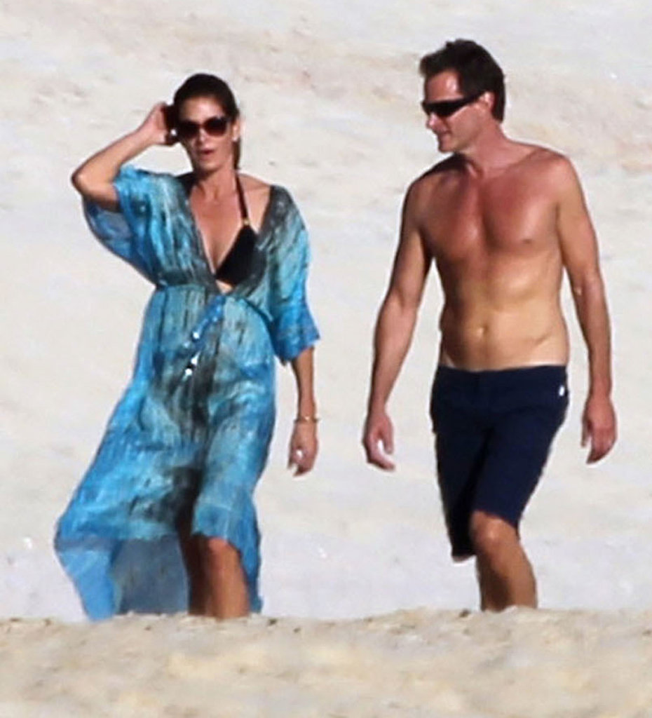 Cindy Crawford and Rande Gerber made their annual escape to Mexico.
