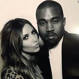 Kim Kardashian shared a cute photo with Kanye West. Source: Instagram user kimkardashian