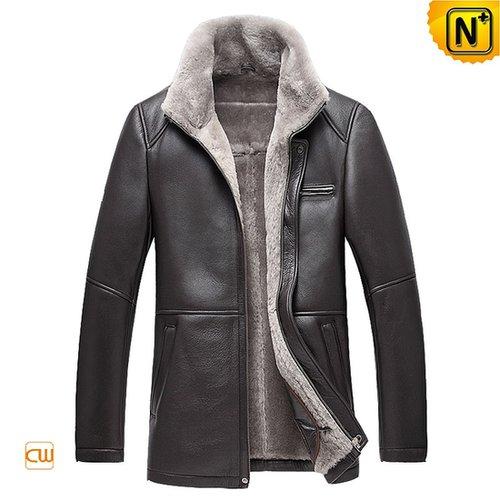 Men Leather Sheepskin Jacket CW878207