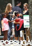 The Jolie-Pitts Have a Wild Time (With a Baby Kangaroo!) Down Under