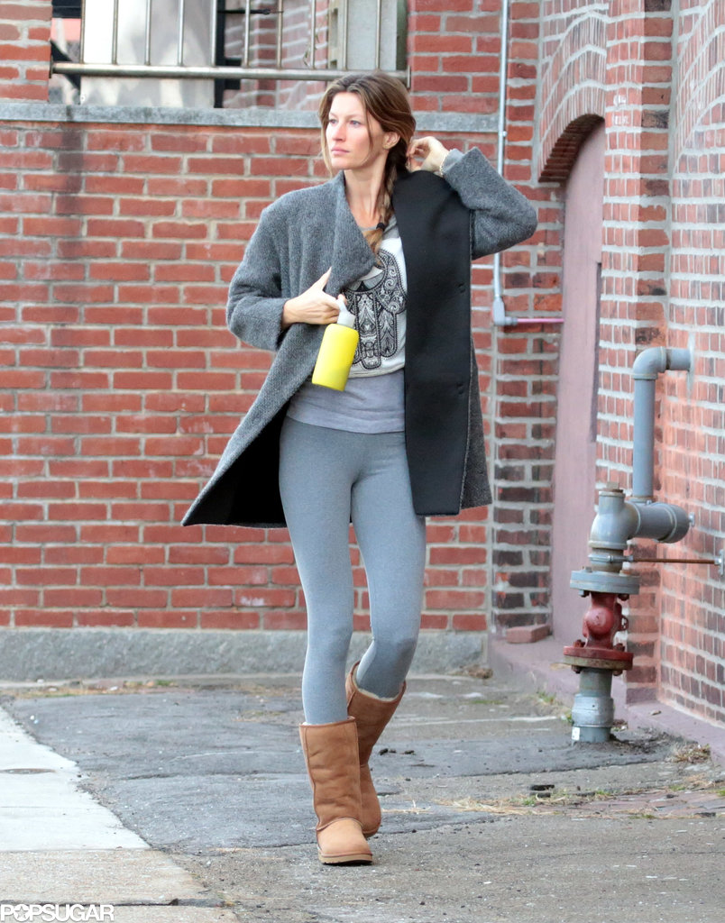 Gisele Bündchen made time to run errands in Boston on Saturday.