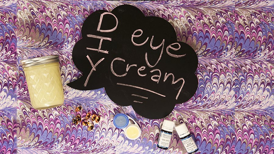 Only Three Ingredients to This DIY, Collagen-Boosting Eye Cream
