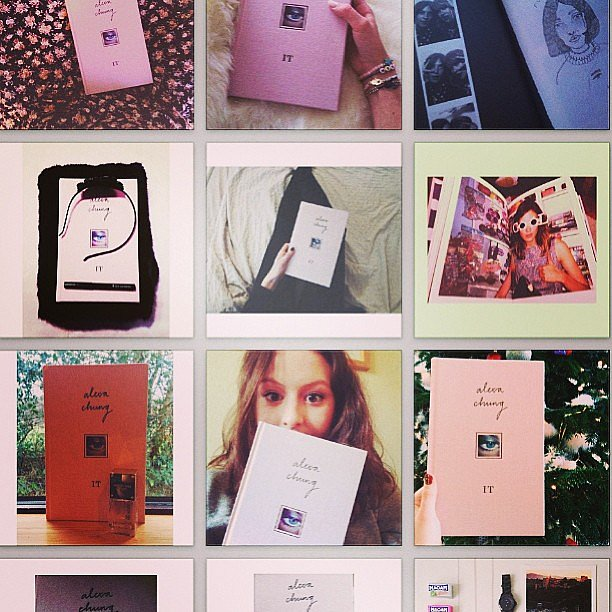 Proof that Alexa Chung's book was this year's It gift. Source: Instagram user chungalexa