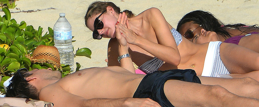 Pre-Engagement PDA! Olivia and Her Man Heat Up the Beach