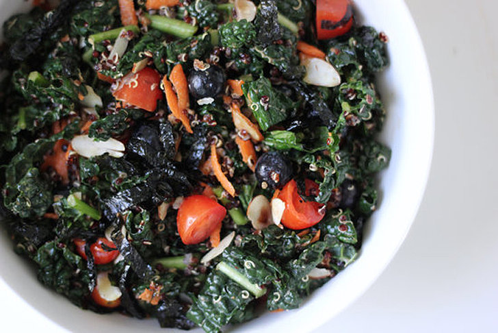 Lunch: Kale and Quinoa Superfood Salad