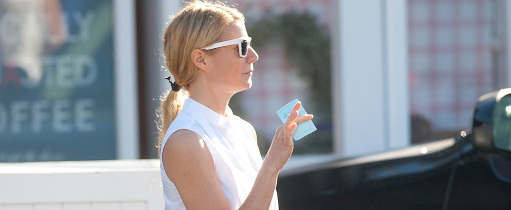 Did You Think Gwyneth Would Leave the House in Sweats?