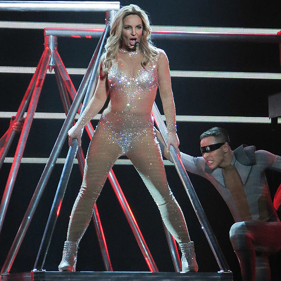 Celebrities at Britney Spears Las Vegas Concert Debut