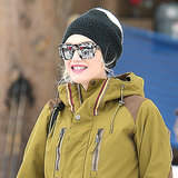 Gwen Stefani and Son Zuma Share a Sweet Moment in the Snow