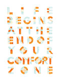 "This handwritten typography poster ($20) reminds us that ""Life begins at the end of your comfort zone."""