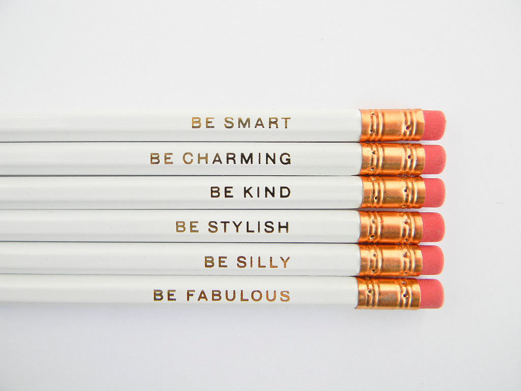 Gentle Reminder Pencils