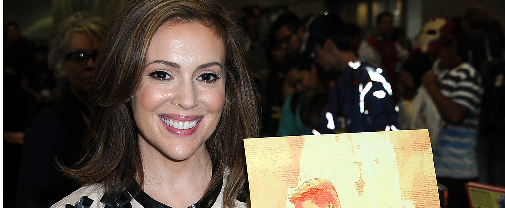 Why Alyssa Milano Is Standing Up For Postpartum Moms