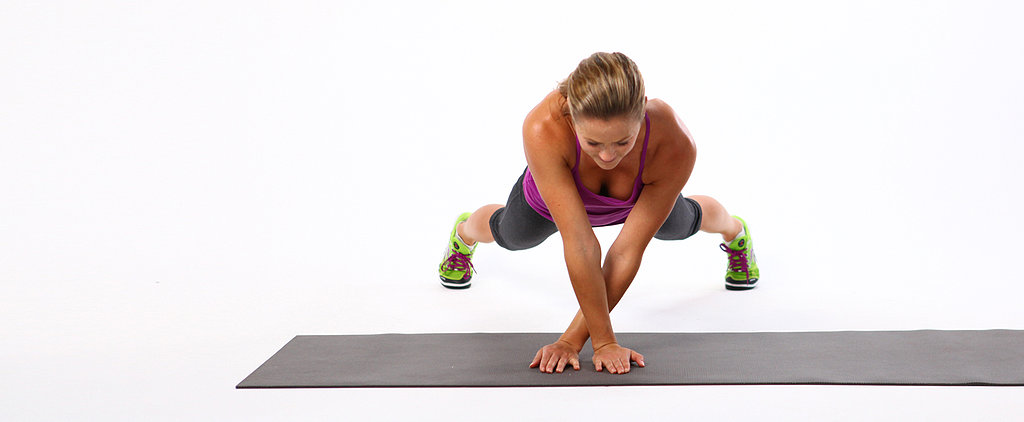 Hard-Core Core Move: Plank Side Walk