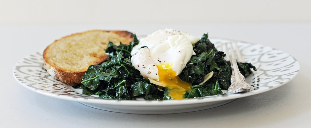 Weeknight Winner: Spicy Garlic Kale With Poached Eggs