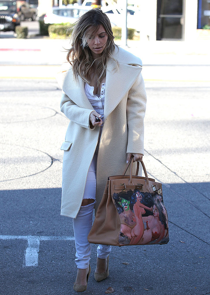 Kim Kardashian's Got a Brand-New Bag