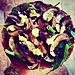 (Semi-Raw, Paleo, Vegan, Oil Free) Mushroom Pizza