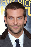 Bradley sported a short haircut and sexy scruff for the NYC premiere of American Hustle in December 2013.