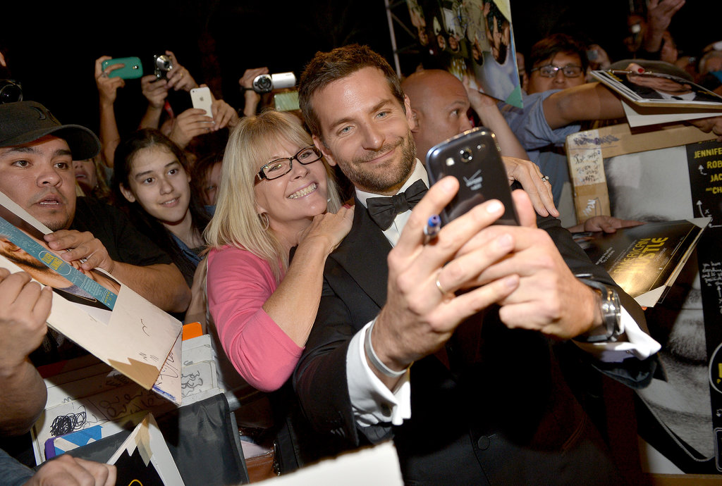 Bradley Cooper posed for a selfie.