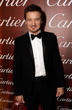 Jeremy Renner wore a black bow tie.