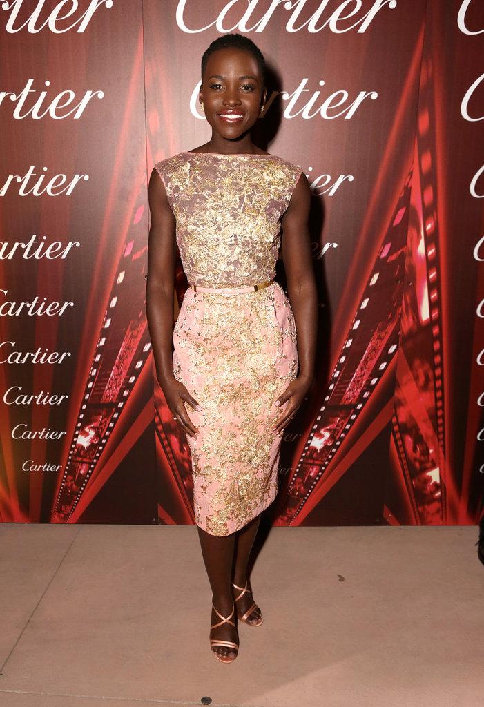 Lupita Nyong'o at the Palm Springs International Film Festival