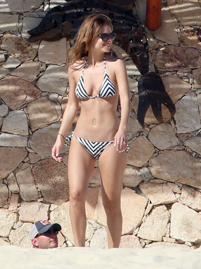 Maria scored some rays in Cabo San Lucas, Mexico.