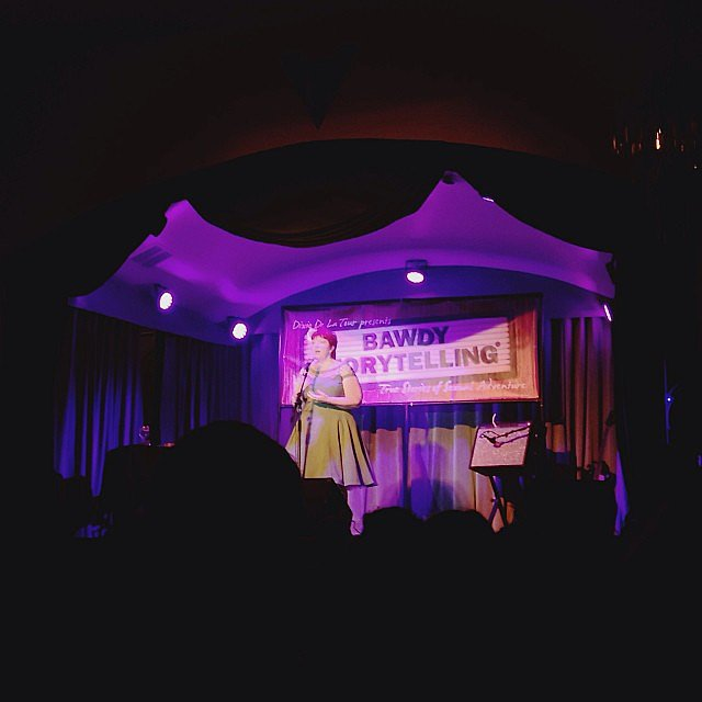 Heard men and women bravely tell hilarious true stories about their sex lives at Bawdy Storytelling, and it was amazing.