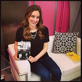 Getting ready for POPSUGAR Live.