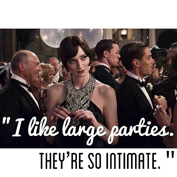 Jordan, The Great Gatsby.