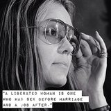 A Gloria Steinem quote for Women's Equality Day.