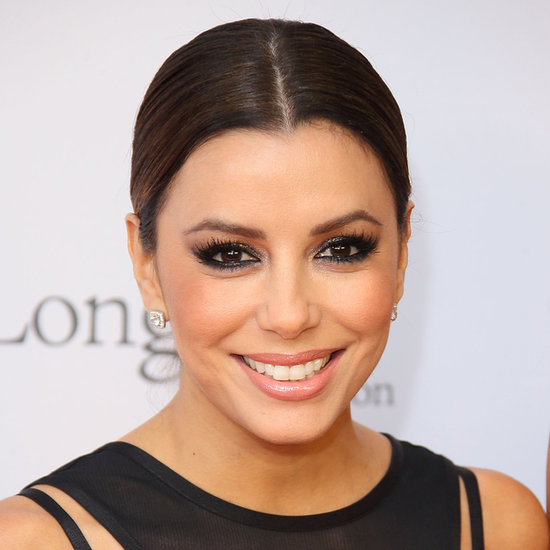 How to Get Eva Longoria's Nude Lip and Smoky Eyes