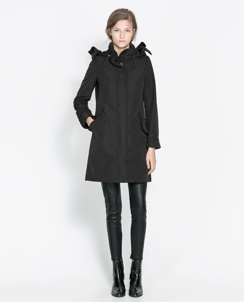 Zara Quilted Nylon Anorak ($80, originally $139)