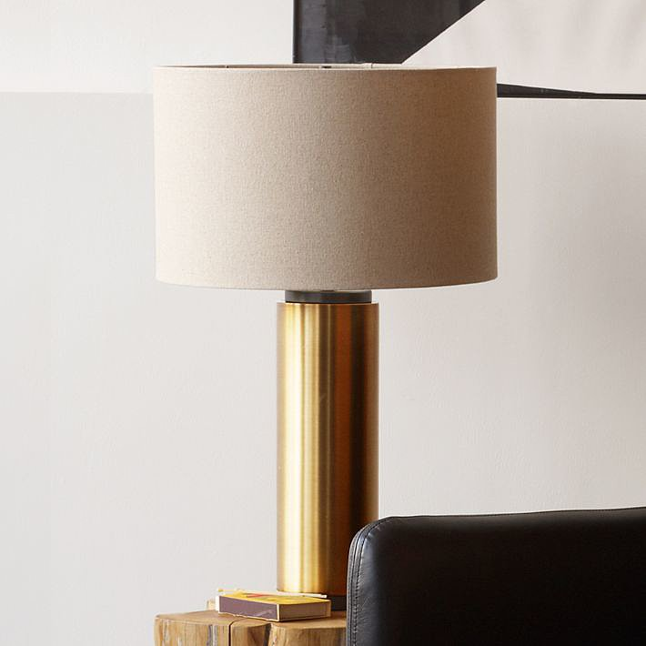 It could take years of eBay searching to unearth something as sleek as this vintage-inspired Pillar Table Lamp ($199).