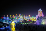 Tourists checked out the 30th Harbin International Ice and Snow Sculpture Festival in Harbin, China.