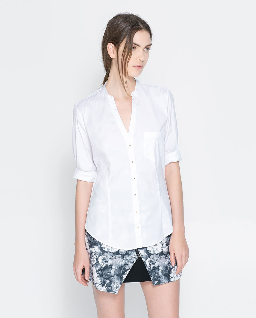 V-Neck Zara Shirt ($30, originally $40)