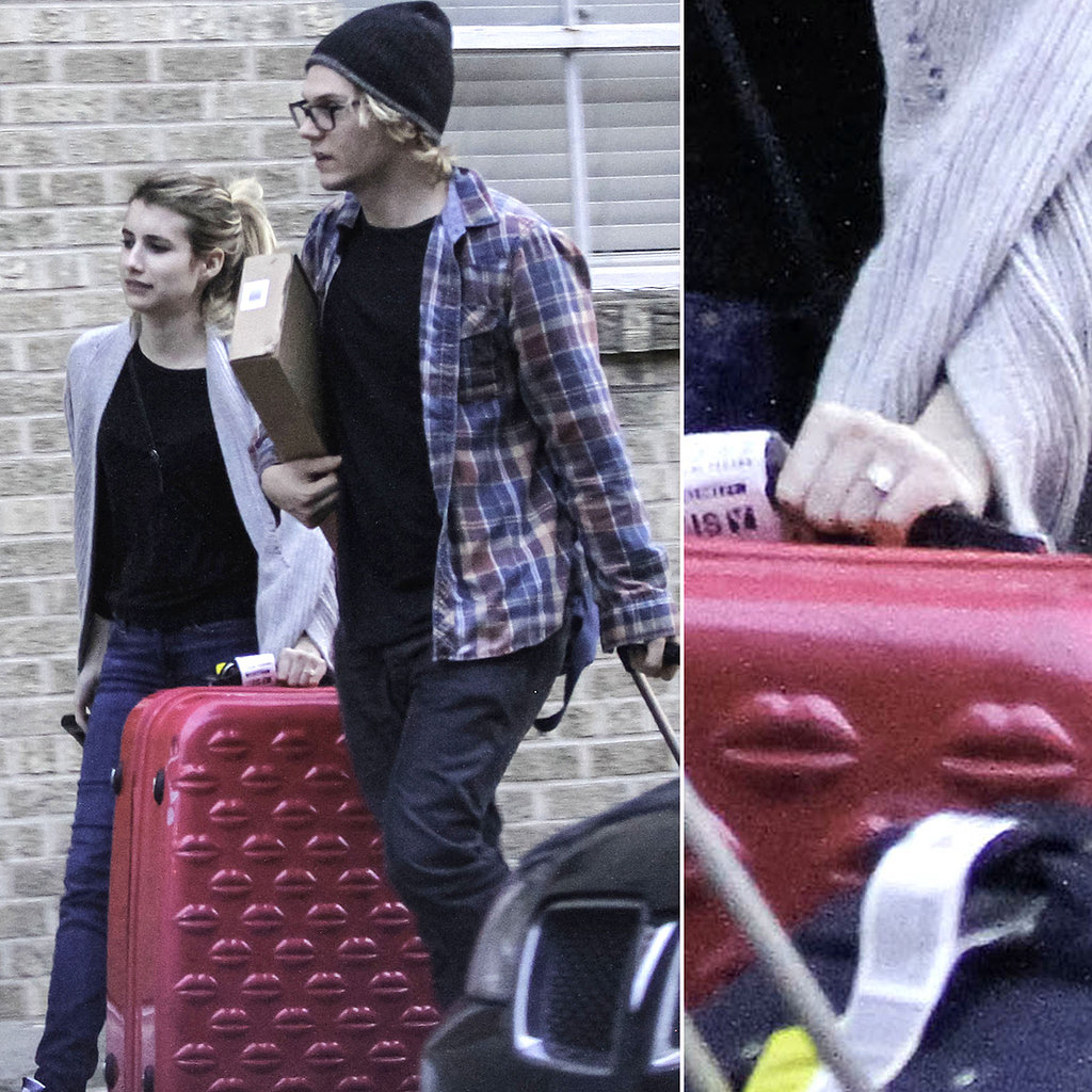 Is This Emma Roberts's Engagement Ring?