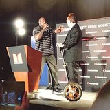 The Monster CEO With a Golden Segway Who Got Shaq All Excited